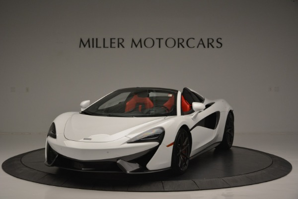 Used 2018 McLaren 570S Spider for sale Sold at Alfa Romeo of Greenwich in Greenwich CT 06830 1