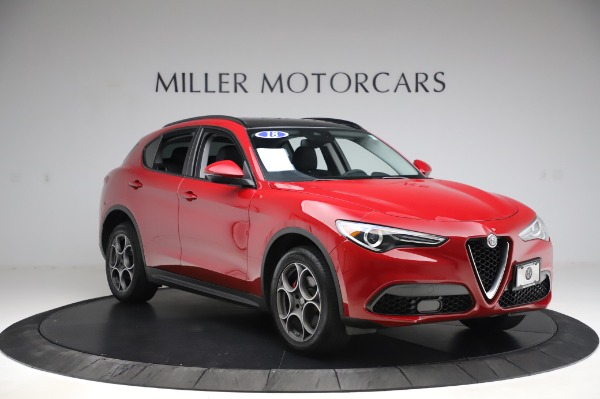 Used 2018 Alfa Romeo Stelvio Sport Q4 for sale $35,900 at Alfa Romeo of Greenwich in Greenwich CT 06830 11