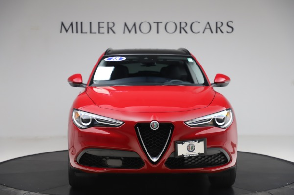 Used 2018 Alfa Romeo Stelvio Sport Q4 for sale $35,900 at Alfa Romeo of Greenwich in Greenwich CT 06830 12