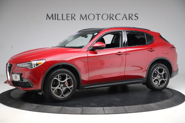 Used 2018 Alfa Romeo Stelvio Sport Q4 for sale $35,900 at Alfa Romeo of Greenwich in Greenwich CT 06830 2