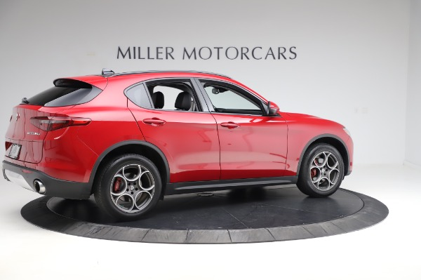 Used 2018 Alfa Romeo Stelvio Sport Q4 for sale $35,900 at Alfa Romeo of Greenwich in Greenwich CT 06830 8