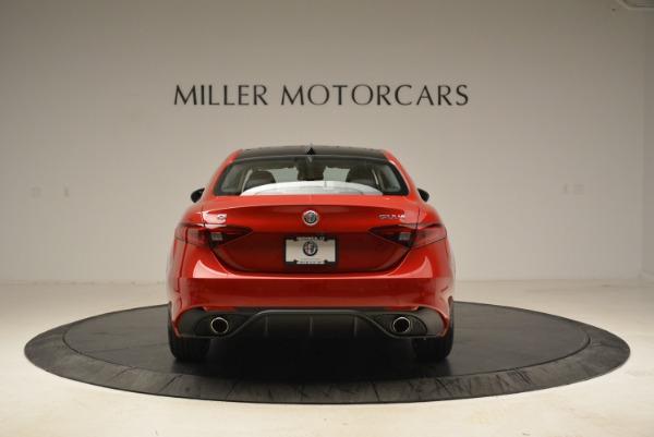 New 2018 Alfa Romeo Giulia Ti Sport Q4 for sale Sold at Alfa Romeo of Greenwich in Greenwich CT 06830 6