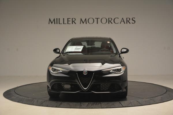 New 2018 Alfa Romeo Giulia Ti Sport Q4 for sale Sold at Alfa Romeo of Greenwich in Greenwich CT 06830 12