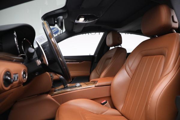 New 2018 Maserati Quattroporte S Q4 for sale Sold at Alfa Romeo of Greenwich in Greenwich CT 06830 15