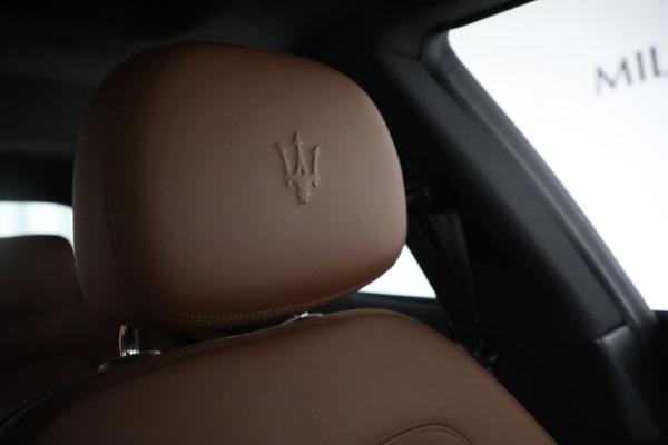 New 2018 Maserati Quattroporte S Q4 for sale Sold at Alfa Romeo of Greenwich in Greenwich CT 06830 23