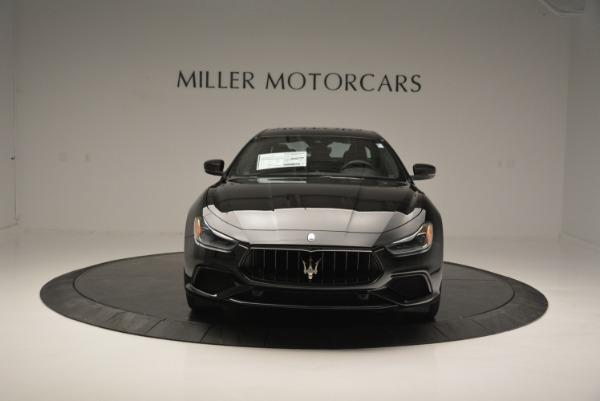 New 2018 Maserati Ghibli SQ4 GranSport Nerissimo for sale Sold at Alfa Romeo of Greenwich in Greenwich CT 06830 12