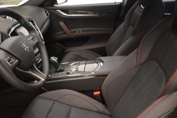 New 2018 Maserati Ghibli SQ4 GranSport Nerissimo for sale Sold at Alfa Romeo of Greenwich in Greenwich CT 06830 14