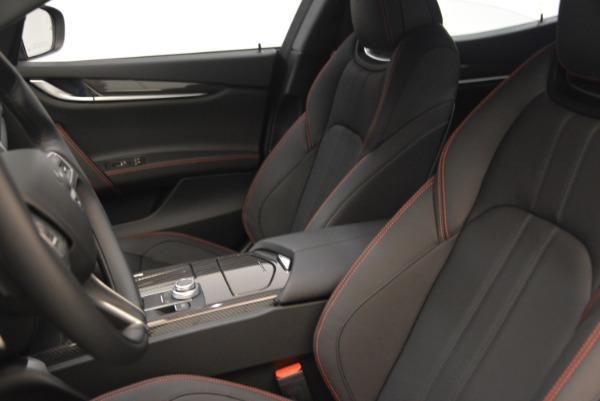 New 2018 Maserati Ghibli SQ4 GranSport Nerissimo for sale Sold at Alfa Romeo of Greenwich in Greenwich CT 06830 15