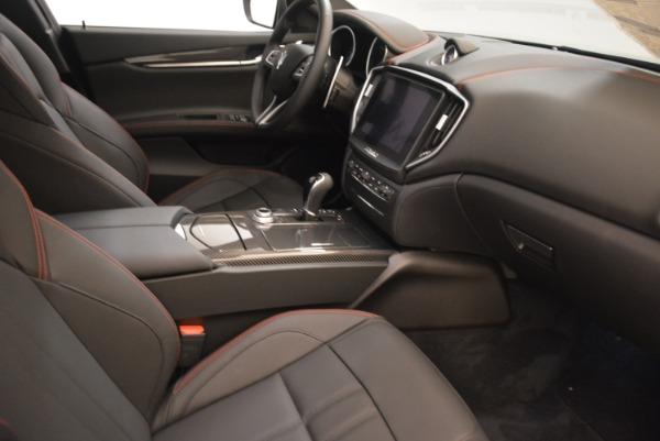 New 2018 Maserati Ghibli SQ4 GranSport Nerissimo for sale Sold at Alfa Romeo of Greenwich in Greenwich CT 06830 16