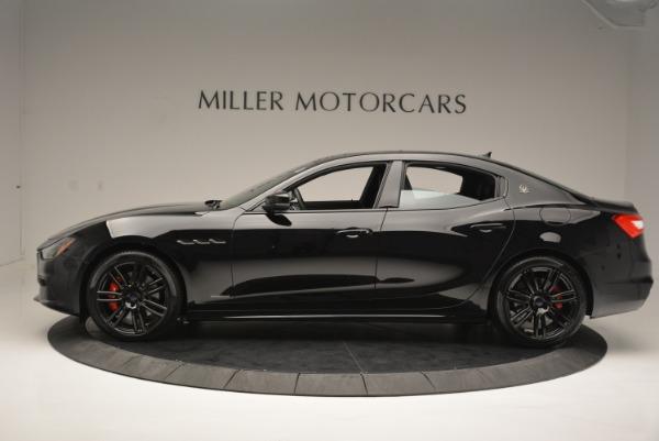 New 2018 Maserati Ghibli SQ4 GranSport Nerissimo for sale Sold at Alfa Romeo of Greenwich in Greenwich CT 06830 3
