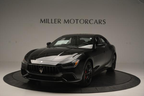 New 2018 Maserati Ghibli SQ4 GranSport Nerissimo for sale Sold at Alfa Romeo of Greenwich in Greenwich CT 06830 1
