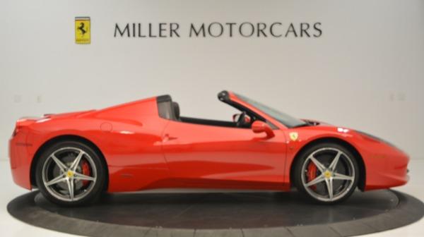 Used 2015 Ferrari 458 Spider for sale Sold at Alfa Romeo of Greenwich in Greenwich CT 06830 10