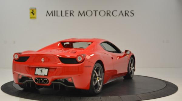 Used 2015 Ferrari 458 Spider for sale Sold at Alfa Romeo of Greenwich in Greenwich CT 06830 20