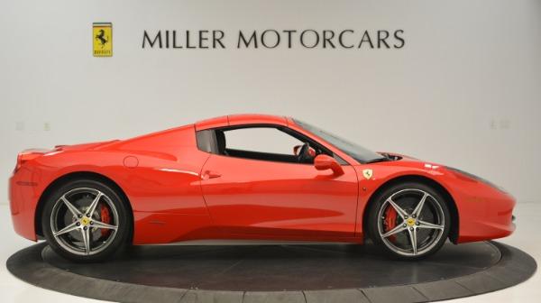 Used 2015 Ferrari 458 Spider for sale Sold at Alfa Romeo of Greenwich in Greenwich CT 06830 22
