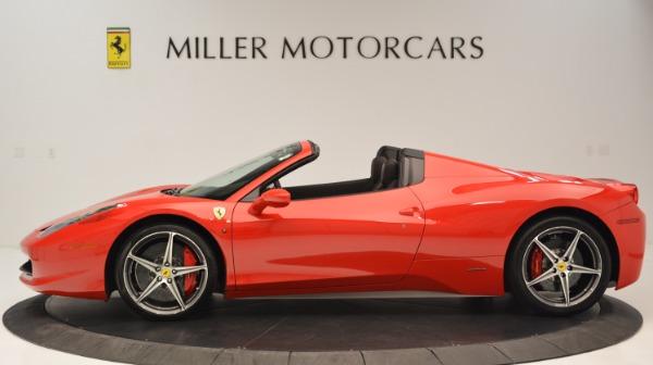 Used 2015 Ferrari 458 Spider for sale Sold at Alfa Romeo of Greenwich in Greenwich CT 06830 3