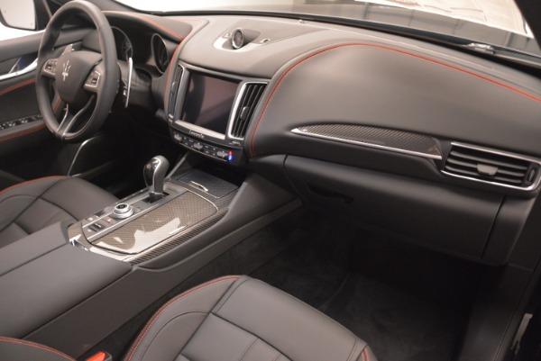 New 2018 Maserati Levante S Q4 GranSport Nerissimo for sale Sold at Alfa Romeo of Greenwich in Greenwich CT 06830 19