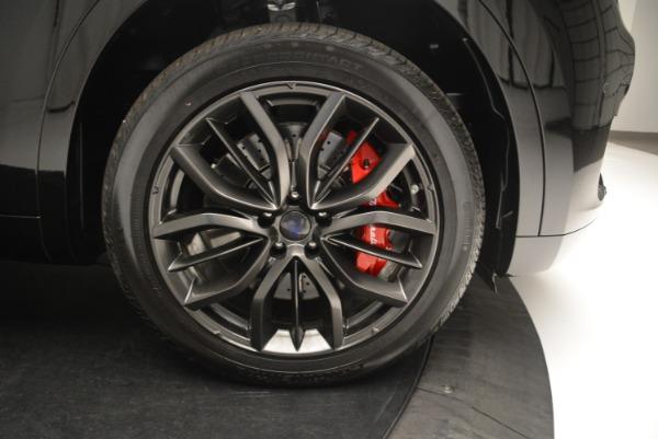 New 2018 Maserati Levante S Q4 GranSport Nerissimo for sale Sold at Alfa Romeo of Greenwich in Greenwich CT 06830 25