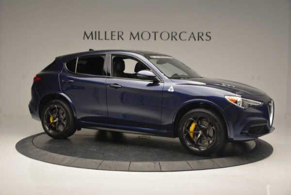 New 2018 Alfa Romeo Stelvio Quadrifoglio for sale Sold at Alfa Romeo of Greenwich in Greenwich CT 06830 10