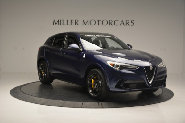 New 2018 Alfa Romeo Stelvio Quadrifoglio for sale Sold at Alfa Romeo of Greenwich in Greenwich CT 06830 11