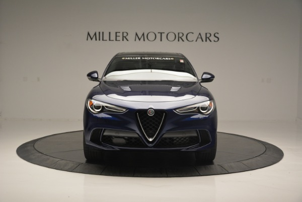New 2018 Alfa Romeo Stelvio Quadrifoglio for sale Sold at Alfa Romeo of Greenwich in Greenwich CT 06830 12