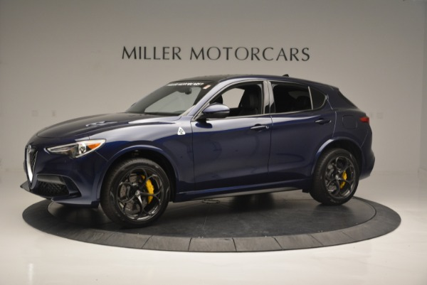 New 2018 Alfa Romeo Stelvio Quadrifoglio for sale Sold at Alfa Romeo of Greenwich in Greenwich CT 06830 2