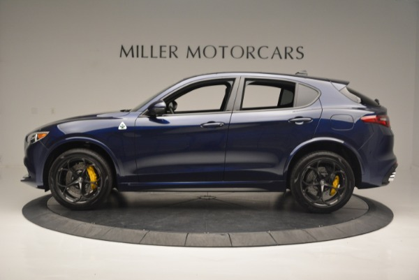 New 2018 Alfa Romeo Stelvio Quadrifoglio for sale Sold at Alfa Romeo of Greenwich in Greenwich CT 06830 3