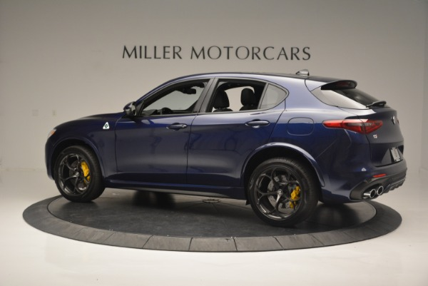 New 2018 Alfa Romeo Stelvio Quadrifoglio for sale Sold at Alfa Romeo of Greenwich in Greenwich CT 06830 4