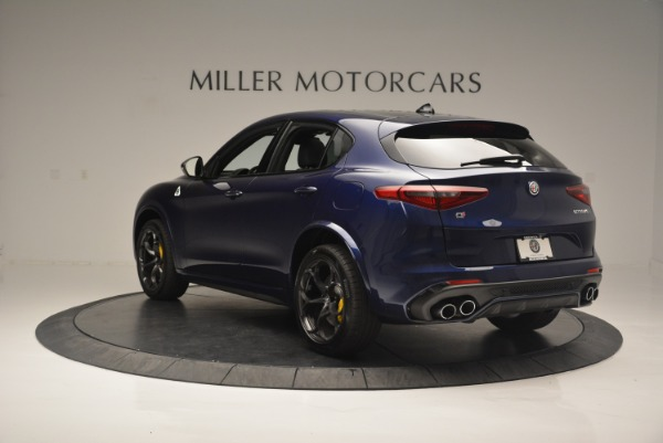 New 2018 Alfa Romeo Stelvio Quadrifoglio for sale Sold at Alfa Romeo of Greenwich in Greenwich CT 06830 5