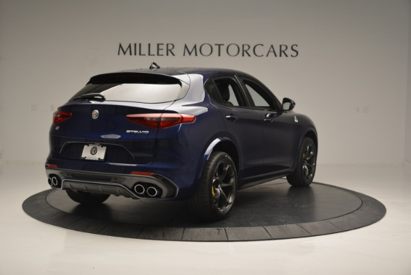 New 2018 Alfa Romeo Stelvio Quadrifoglio for sale Sold at Alfa Romeo of Greenwich in Greenwich CT 06830 7