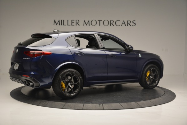 New 2018 Alfa Romeo Stelvio Quadrifoglio for sale Sold at Alfa Romeo of Greenwich in Greenwich CT 06830 8
