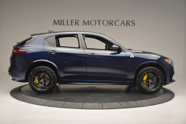 New 2018 Alfa Romeo Stelvio Quadrifoglio for sale Sold at Alfa Romeo of Greenwich in Greenwich CT 06830 9