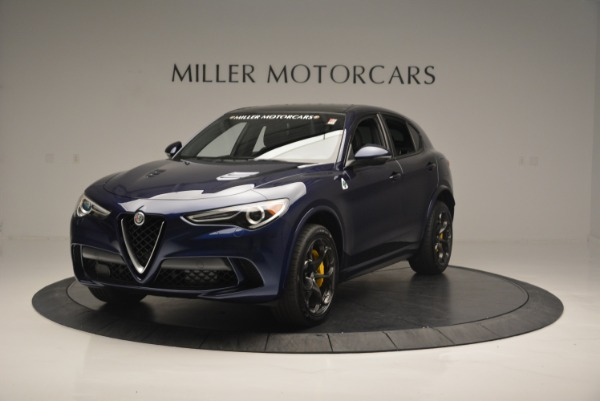 New 2018 Alfa Romeo Stelvio Quadrifoglio for sale Sold at Alfa Romeo of Greenwich in Greenwich CT 06830 1