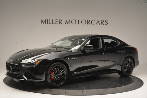 New 2018 Maserati Ghibli SQ4 GranSport Nerissimo for sale Sold at Alfa Romeo of Greenwich in Greenwich CT 06830 2