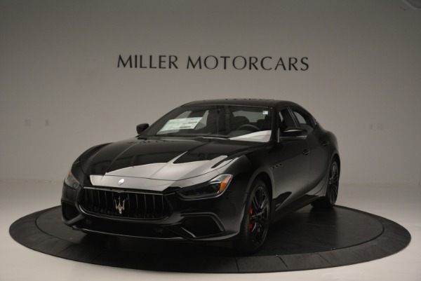 New 2018 Maserati Ghibli SQ4 GranSport Nerissimo for sale Sold at Alfa Romeo of Greenwich in Greenwich CT 06830 1