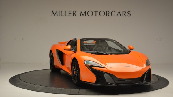 Used 2015 McLaren 650S Spider Convertible for sale Sold at Alfa Romeo of Greenwich in Greenwich CT 06830 11