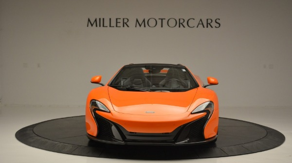 Used 2015 McLaren 650S Spider Convertible for sale Sold at Alfa Romeo of Greenwich in Greenwich CT 06830 12