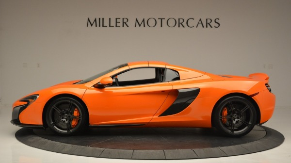 Used 2015 McLaren 650S Spider Convertible for sale Sold at Alfa Romeo of Greenwich in Greenwich CT 06830 16