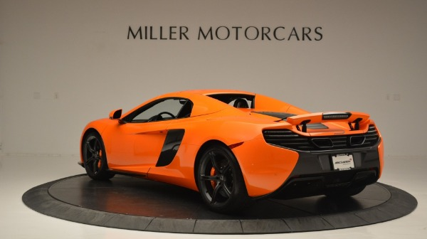 Used 2015 McLaren 650S Spider Convertible for sale Sold at Alfa Romeo of Greenwich in Greenwich CT 06830 17