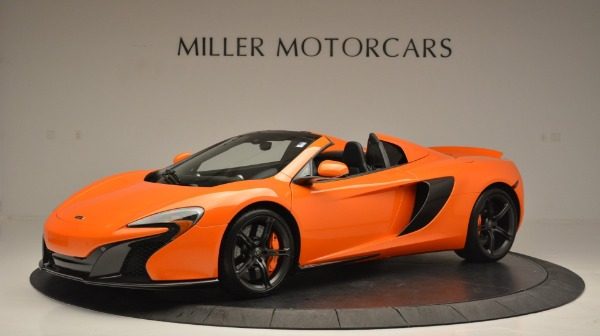Used 2015 McLaren 650S Spider Convertible for sale Sold at Alfa Romeo of Greenwich in Greenwich CT 06830 2
