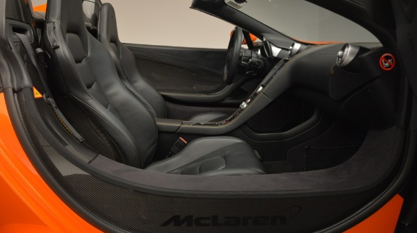 Used 2015 McLaren 650S Spider Convertible for sale Sold at Alfa Romeo of Greenwich in Greenwich CT 06830 26