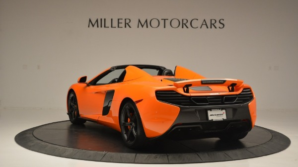 Used 2015 McLaren 650S Spider Convertible for sale Sold at Alfa Romeo of Greenwich in Greenwich CT 06830 5