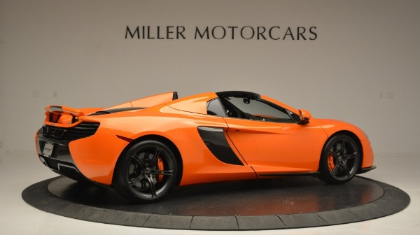 Used 2015 McLaren 650S Spider Convertible for sale Sold at Alfa Romeo of Greenwich in Greenwich CT 06830 8
