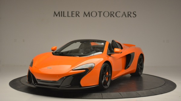 Used 2015 McLaren 650S Spider Convertible for sale Sold at Alfa Romeo of Greenwich in Greenwich CT 06830 1
