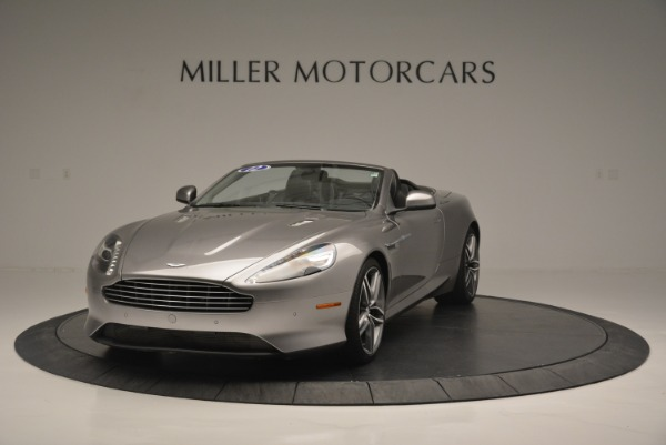 Used 2012 Aston Martin Virage Volante for sale Sold at Alfa Romeo of Greenwich in Greenwich CT 06830 1