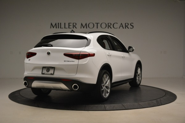 New 2018 Alfa Romeo Stelvio Ti Sport Q4 for sale Sold at Alfa Romeo of Greenwich in Greenwich CT 06830 7