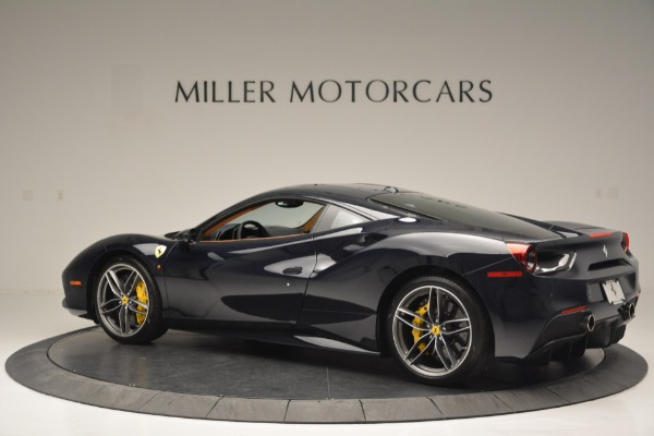 Used 2018 Ferrari 488 GTB for sale Sold at Alfa Romeo of Greenwich in Greenwich CT 06830 4