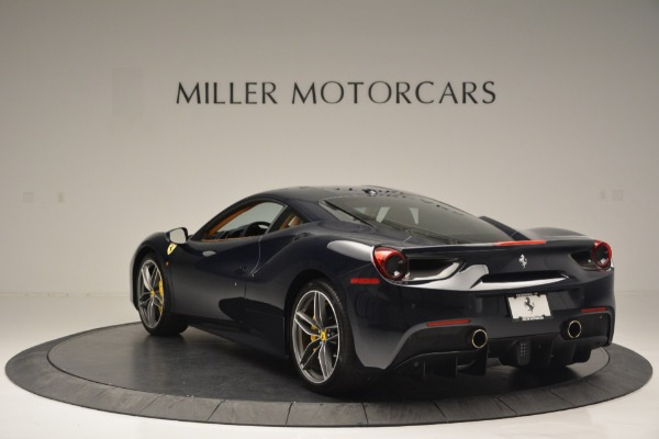 Used 2018 Ferrari 488 GTB for sale Sold at Alfa Romeo of Greenwich in Greenwich CT 06830 5