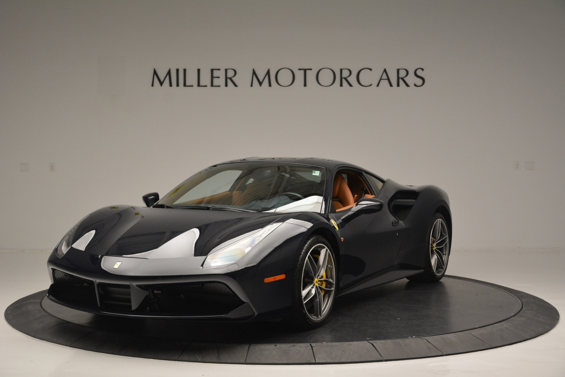 Used 2018 Ferrari 488 GTB for sale Sold at Alfa Romeo of Greenwich in Greenwich CT 06830 1