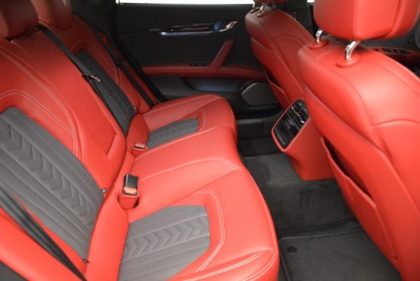 New 2018 Maserati Quattroporte S Q4 GranLusso for sale Sold at Alfa Romeo of Greenwich in Greenwich CT 06830 24