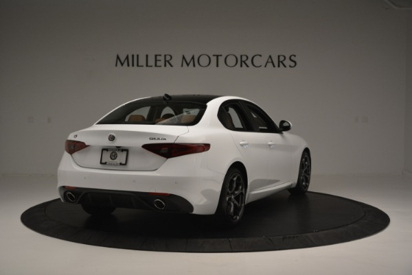 New 2018 Alfa Romeo Giulia Ti Sport Q4 for sale Sold at Alfa Romeo of Greenwich in Greenwich CT 06830 7